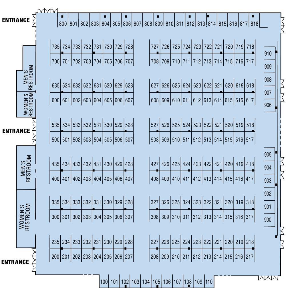 Tips to navigate expo floor plan 2019 ocean city for Trade show floor plan design